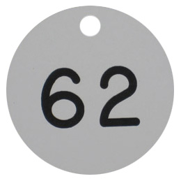 Valve Disk with number 62