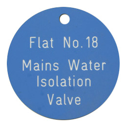 A Traffolyte Valve Disk with valve name