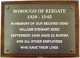 Bronze Engraved Plaque