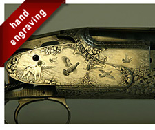 Hand Gun Engraving Design