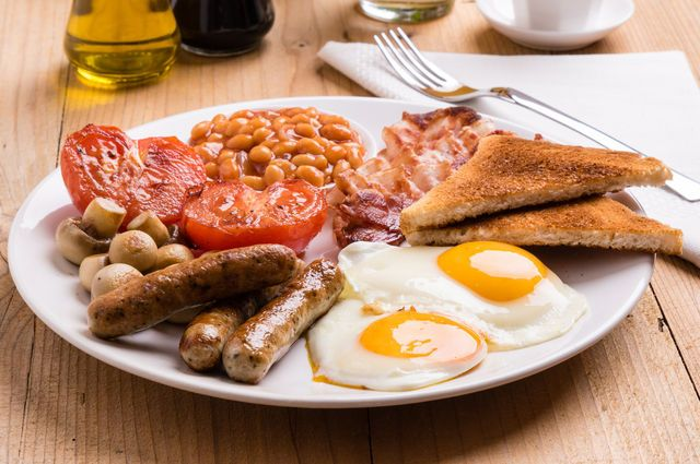 A full English breakfast