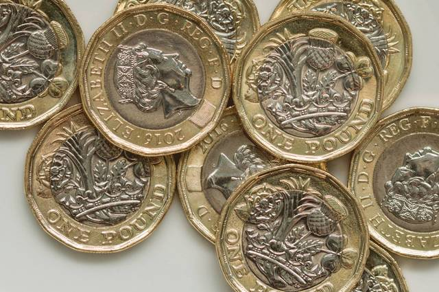 New Pound Coin 'Gold Rush'