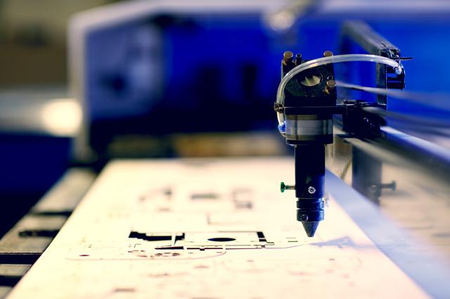 Laser Engraver image by Pressmaster via Shutterstock.