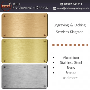 Engraving & Etching Services Kingston