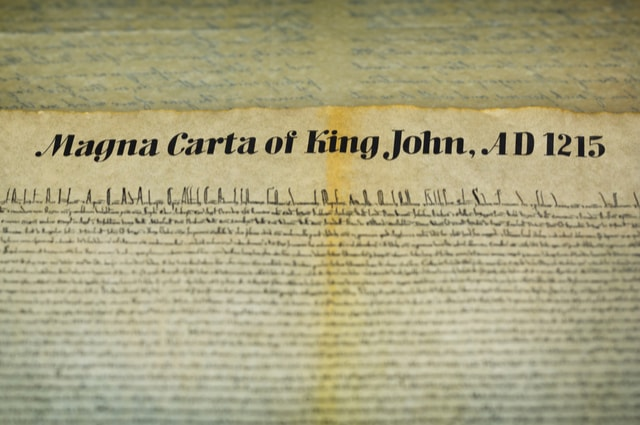 Rare engraving of the Canterbury Magna Carta is bought