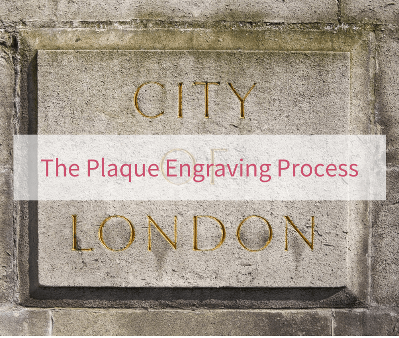 The Plaque Engraving Process