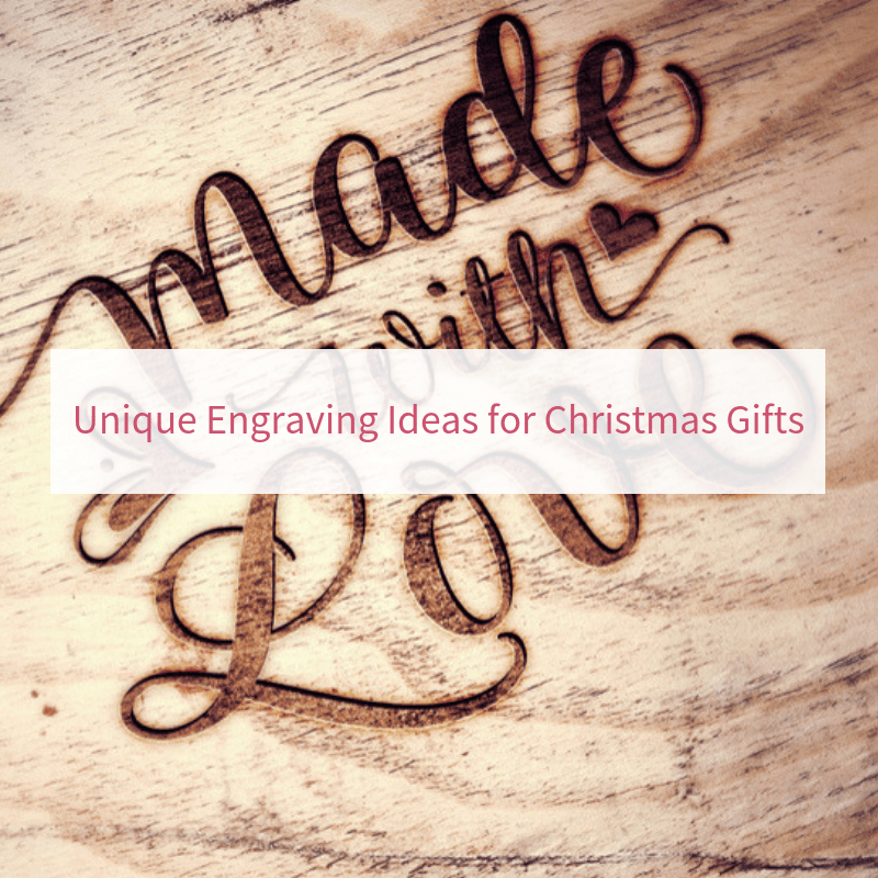 Unique Engraving Ideas for Christmas Gifts