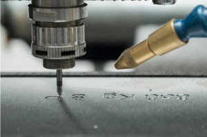 Stainless steel engraving